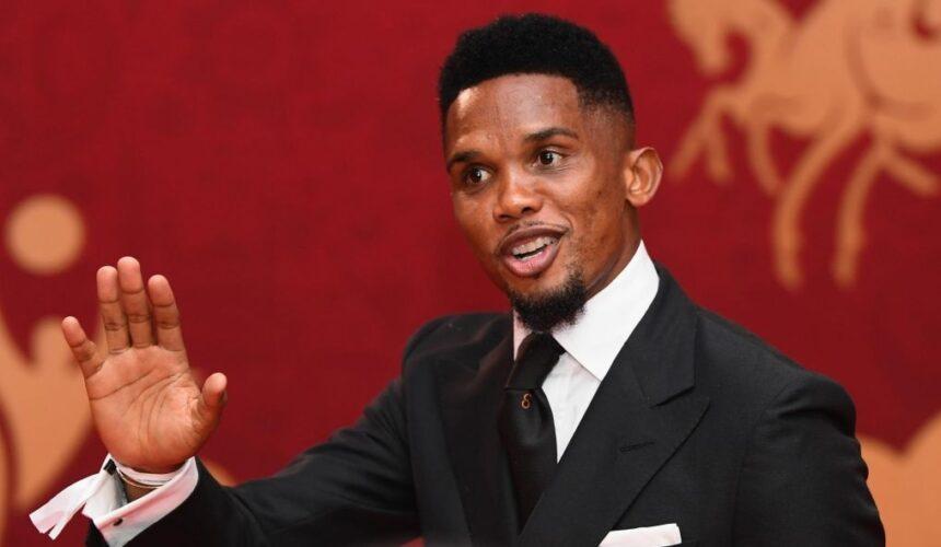 Eto'o meilleur joueur africain