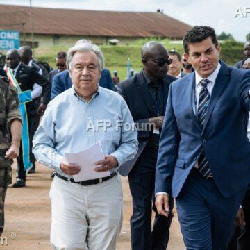 RDC: «Il faut faire plus» face à Ebola et aux milices, lance le patron de l'ONU à Beni