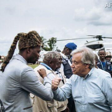 RDC: «Les Nations unies n'abandonneront pas le peuple congolais» (A. Guterres)