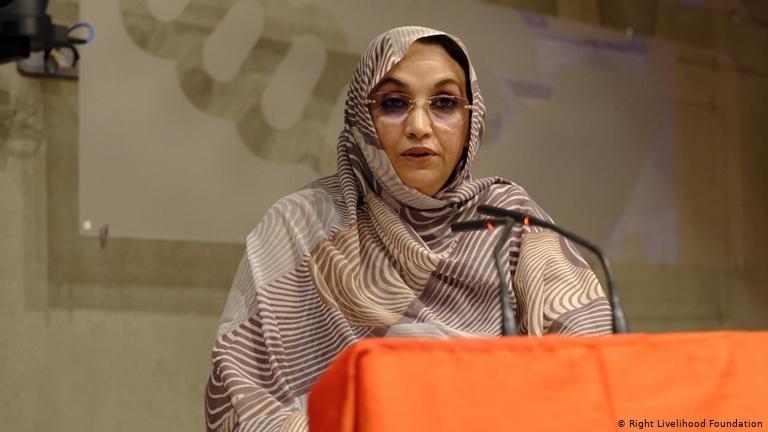 La Sahraouie Aminatou Haidar, une des lauréates du Prix Nobel Nobel Alternatif 2019