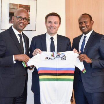 Cyclisme sur route : Kigali officialise sa candidature pour abriter l'édition 2025 des Championnats du Monde