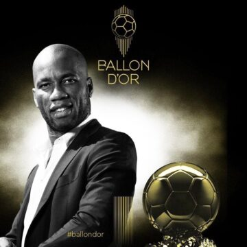 L'Ivoirien Didier Drogba, nouvel ambassadeur du 'Ballon d'or de France Football'