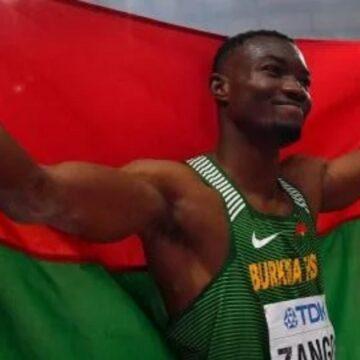 Mondiaux de Doha : médaille historique et record d'Afrique pour le Burkina Faso en triple saut