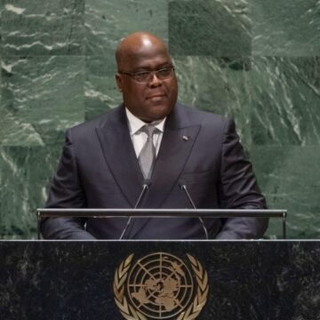 RDC : Le président Tshisekedi souhaite voir moins de Casques Bleus dans son pays