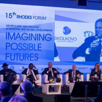 17è Forum de Rhodes du Dialogue des civilisations/En tant qu'invité spécial, le Président Issoufou a encore évoqué le chaos en Libye