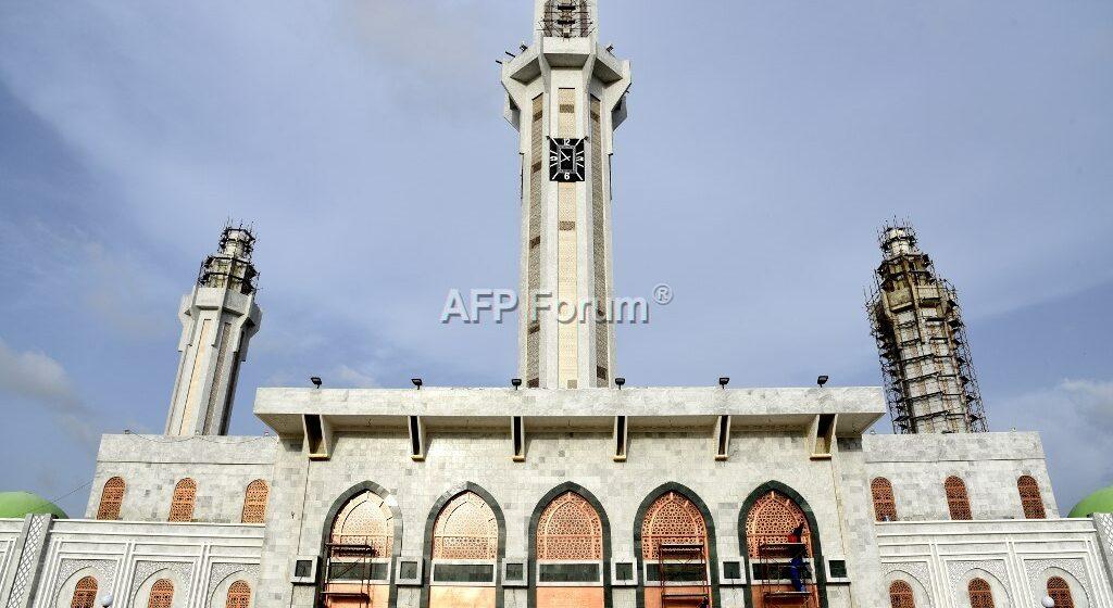 Sénégal: La puissante confrérie des mourides inaugure sa très grande mosquée à Dakar