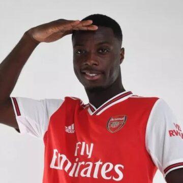 Liga Europa : l'Ivoirien Nicolas Pépé, double buteur sort Arsenal d'un mauvais pas