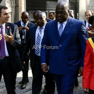 A Anvers après Bruxelles, tapis rouge pour Tshisekedi qui retisse le lien avec la Belgique