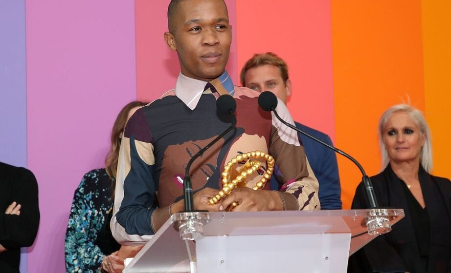 Thebe Magugu, premier africain lauréat du Prix LVMH