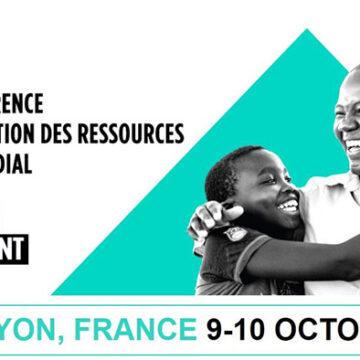 La ville de Lyon accueille les 9 et 10 octobre la 6e Conférence de reconstitution du Fonds mondial contre le sida, la tuberculose et le paludisme