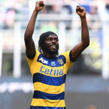 Gervinho prolonge son bail avec Parme jusqu'en 2022