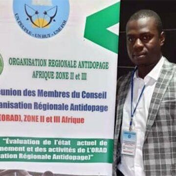 L'Organisation régionale antidopage zone II et III a désormais à sa tête un Burkinabé