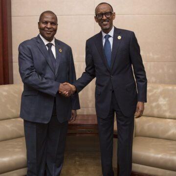La Centrafrique et le Rwanda renforcent  leurs relations bilatérales