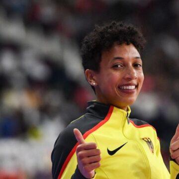 Doha : l'Allemande d'origine tanzanienne Malaika Mihambo domine le saut en longueur