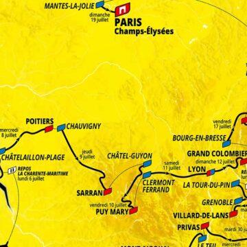 Parcours tour de France 2020 : les étapes de montagne à l'honneur