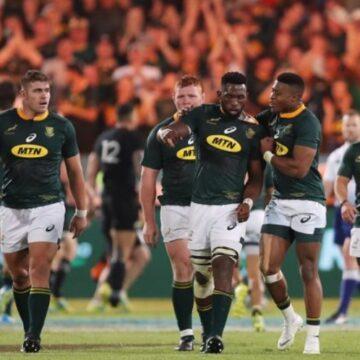 Les Springboks en finale du Mondial de Rugby pour décrocher un 3ème sacre