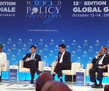 World policy conference 2019/L'Europe doit se rapprocher des pays du Sud pour une géopolitique mondial pacifique (Thierry de Montbrial)