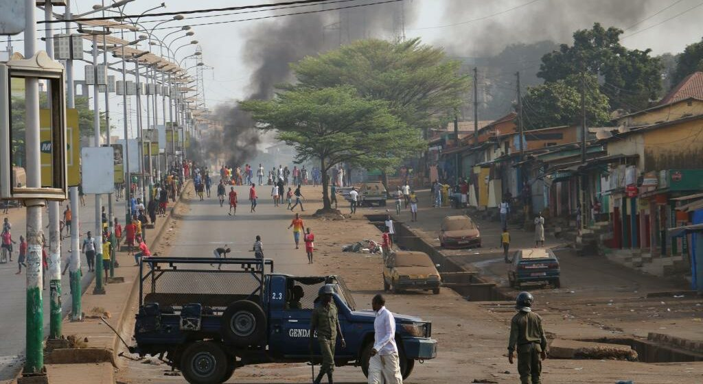 Guinée : climat de tension à Conakry, paralysée par les manifestations
