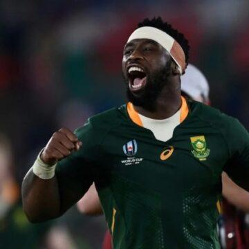 Siya Kolisi, premier capitaine noir d'une équipe championne du Monde de Rugby à XV