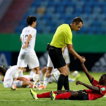Mondial U17 : l'Angola et le Nigeria s'arrêtent en 8ès