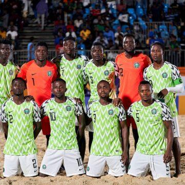 Mondial de Beach Soccer : le Nigeria et le Sénégal pour défendre l'Afrique dès le 21 novembre