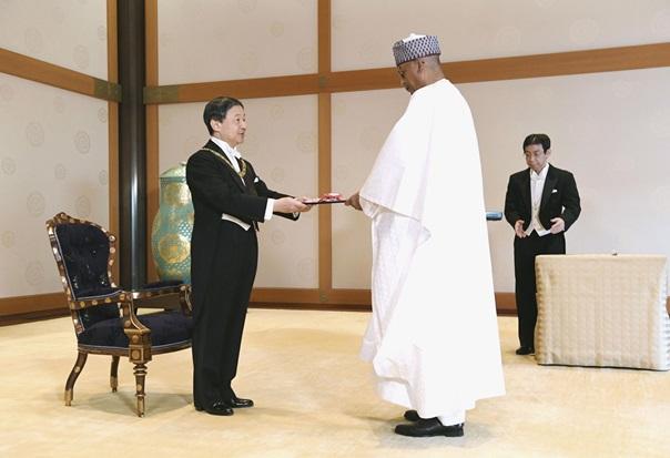 Ibrahim Assane Mayaki honoré à Tokyo pour son engagement à renforcer le partenariat UA-Japon