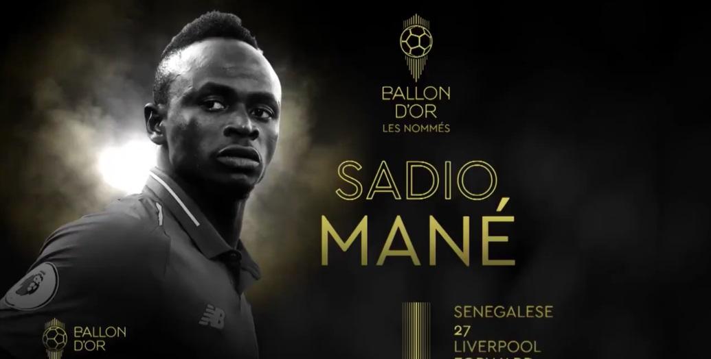 Ballon d'or 2019 : Sadio Mané croit en ses chances et se « donne à fond »