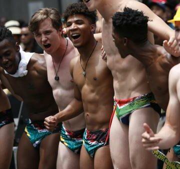 Un slip de bain fait fureur après la victoire des Springboks