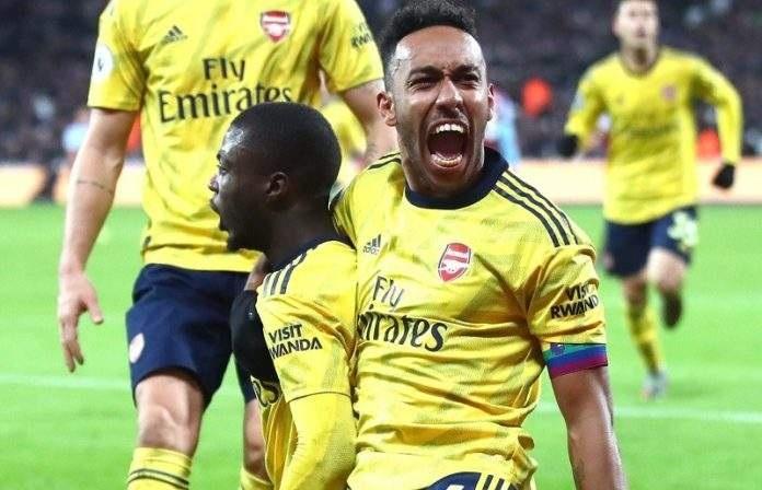 Premier League : après 9 matchs de disette le duo Pepe-Aubemeyang offre une victoire à Arsenal