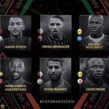 CAF Awards 2019 : 10 finalistes pour le titre de Joueur Africain de l'Année 2019