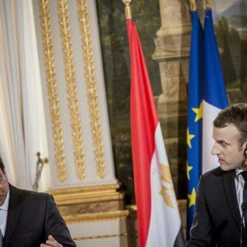 Appel téléphonique : al-Sissi et Macron inquiets de la situation en Libye