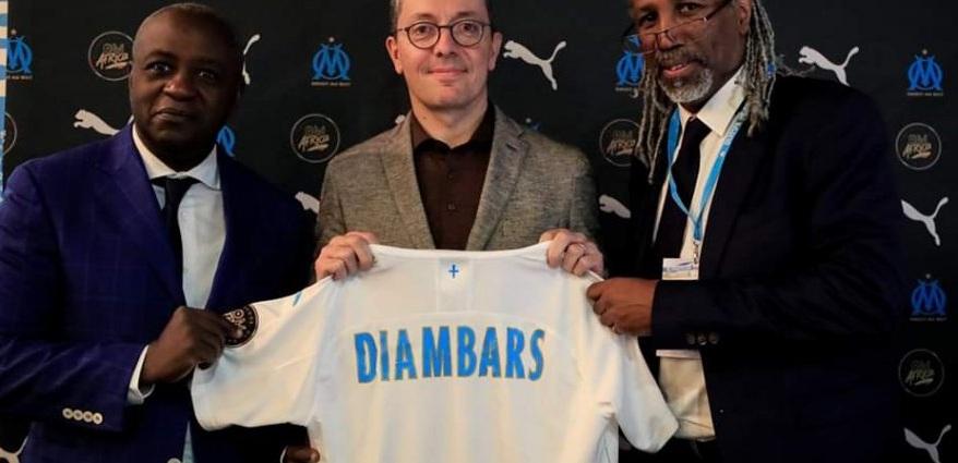 Football : l'Olympique de Marseille et l'Institut Diambars scellent un partenariat