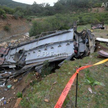 Accident de bus en Tunisie: Le bilan monte à 27 morts