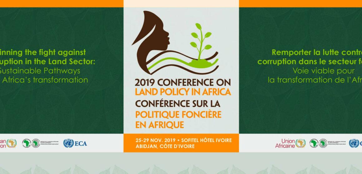 Éradiquer la corruption du secteur foncier : mot d'ordre de l'édition 2019 de la conférence sur le foncier