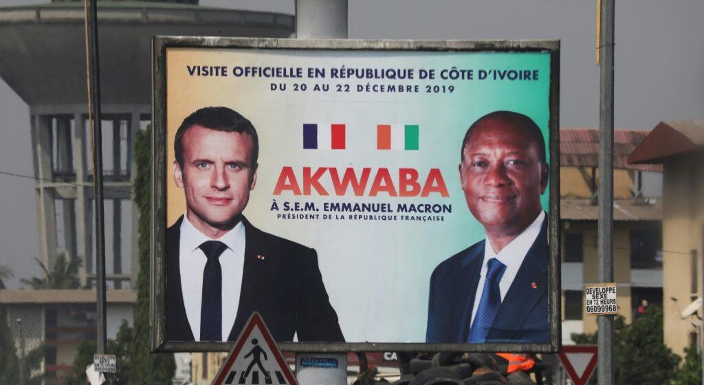 Trêve de Noël pour Macron en Côte d'Ivoire