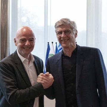 Football/FIFA : Arsène Wenger pilote un important programme pour détecter des talents à travers le monde