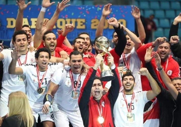 Handball : l'Egypte championne d'Afrique valide son billet pour les JO de Tokyo