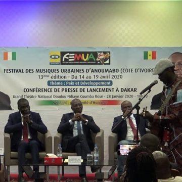 Lancement officiel du FEMUA 2020 avec le Sénégal, invité d'honneur