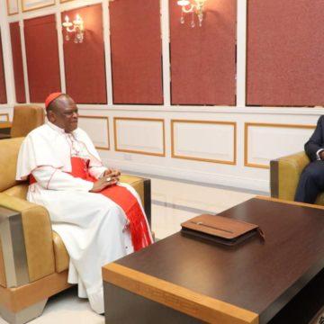 La situation sécuritaire au Nord-Kivu fait état d'une discussion  entre Tsisekedi et le cardinal Fridolin Ambongo