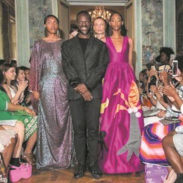 Défilé officiel de la Fédération de la haute couture et de la mode : l'Afrique pour la première fois à l'honneur avec le styliste camerounais Imane
