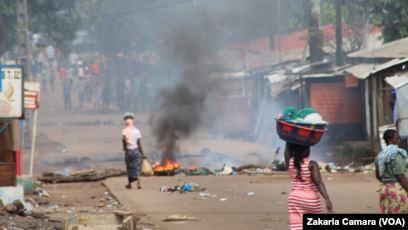 Guinée : Une mobilisation anti-Condé entraine deux morts