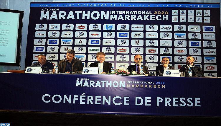 La 31ème édition du marathon international de Marrakech va connaître plus de 13.000 participants