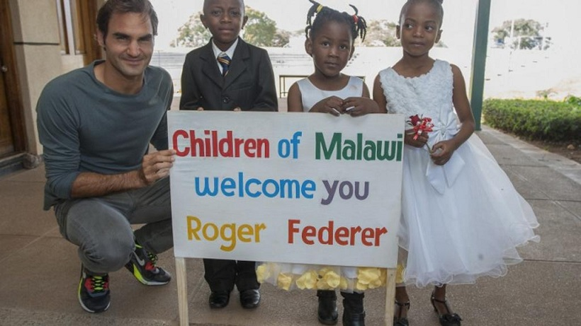 Afrique/Humanitaire : Roger Federer investit 12 millions d'euros dans des infrastructures scolaires