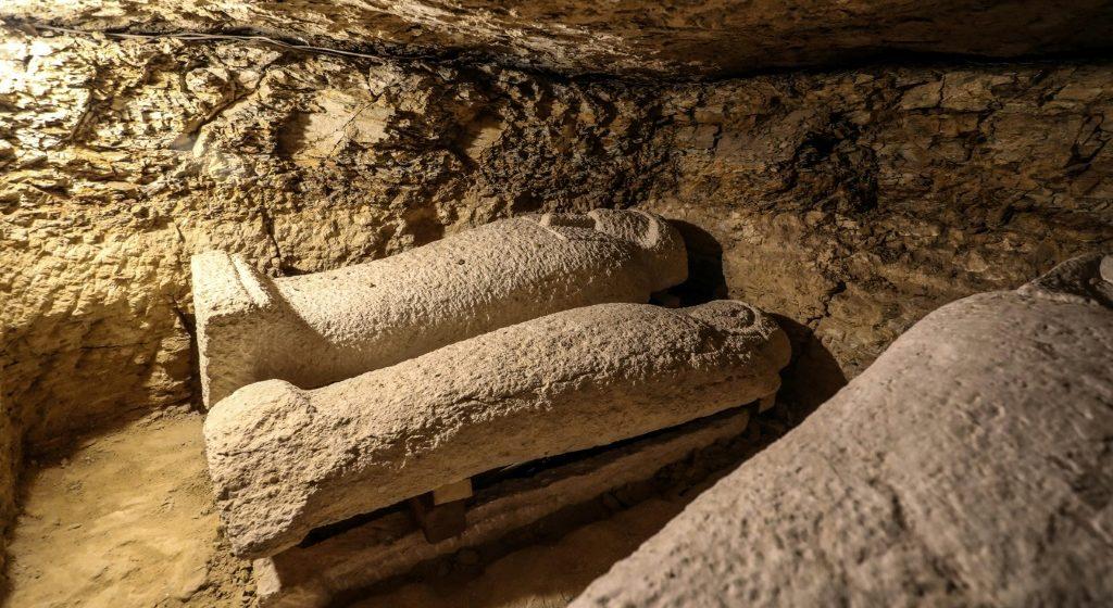 Egypte: découverte de tombes de prêtres des dieux Thot et Horus