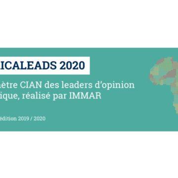 Baromètre CIAN Africaleads : radioscopie de l'image des partenaires étrangers de l'Afrique