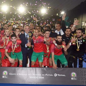 CAN Futsal : Le Maroc, l'Egypte et l'Angola qualifié pour le Mondial en septembre