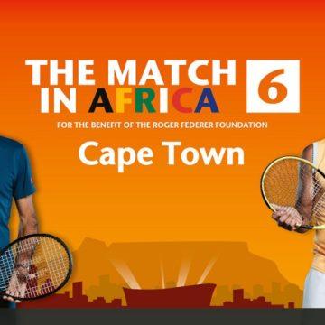 Afrique du Sud : Federer lance « The Match In Africa » avec des invités VIP dont Nadal et Bill Gates