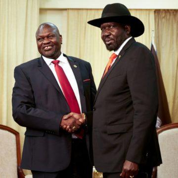 Soudan du Sud: le président et le chef de la rébellion d'accord pour un gouvernement d'union