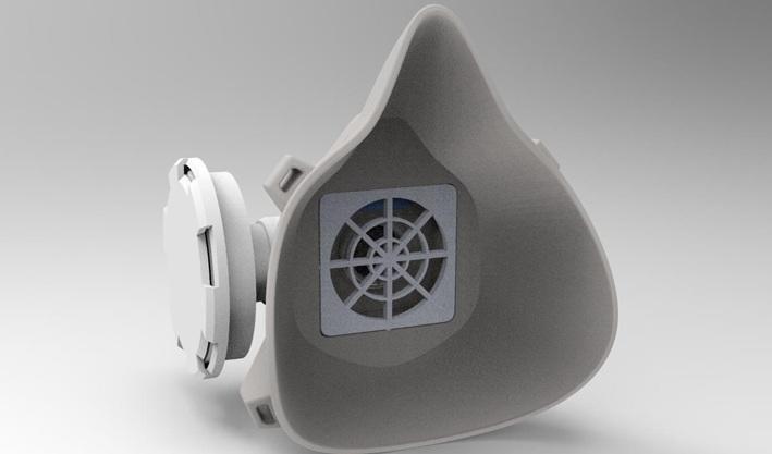 Un masque en 3D détecte à distance le Covid-19