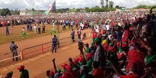 Campagne électorale au Burundi